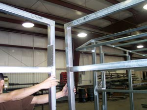 metal framing shed. Example Of A Kit Building By Tote-A-Shed Metal Framing Shed